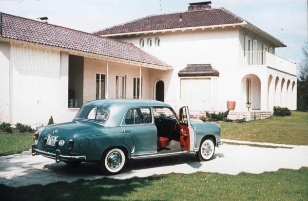 Die Villa Zierer in den 50er Jahren